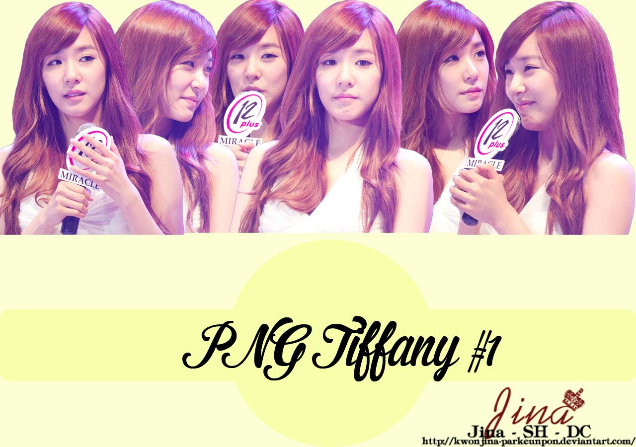 PNG Tiffany #1 by Jina by KwonJina-ParkEunPon