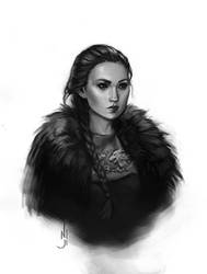 Sansa Stark - a quick painting