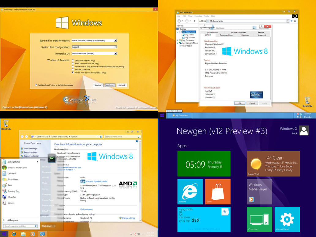 Windows 8 Transformation Pack by windowsx