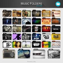 Music Folders PACK by limav