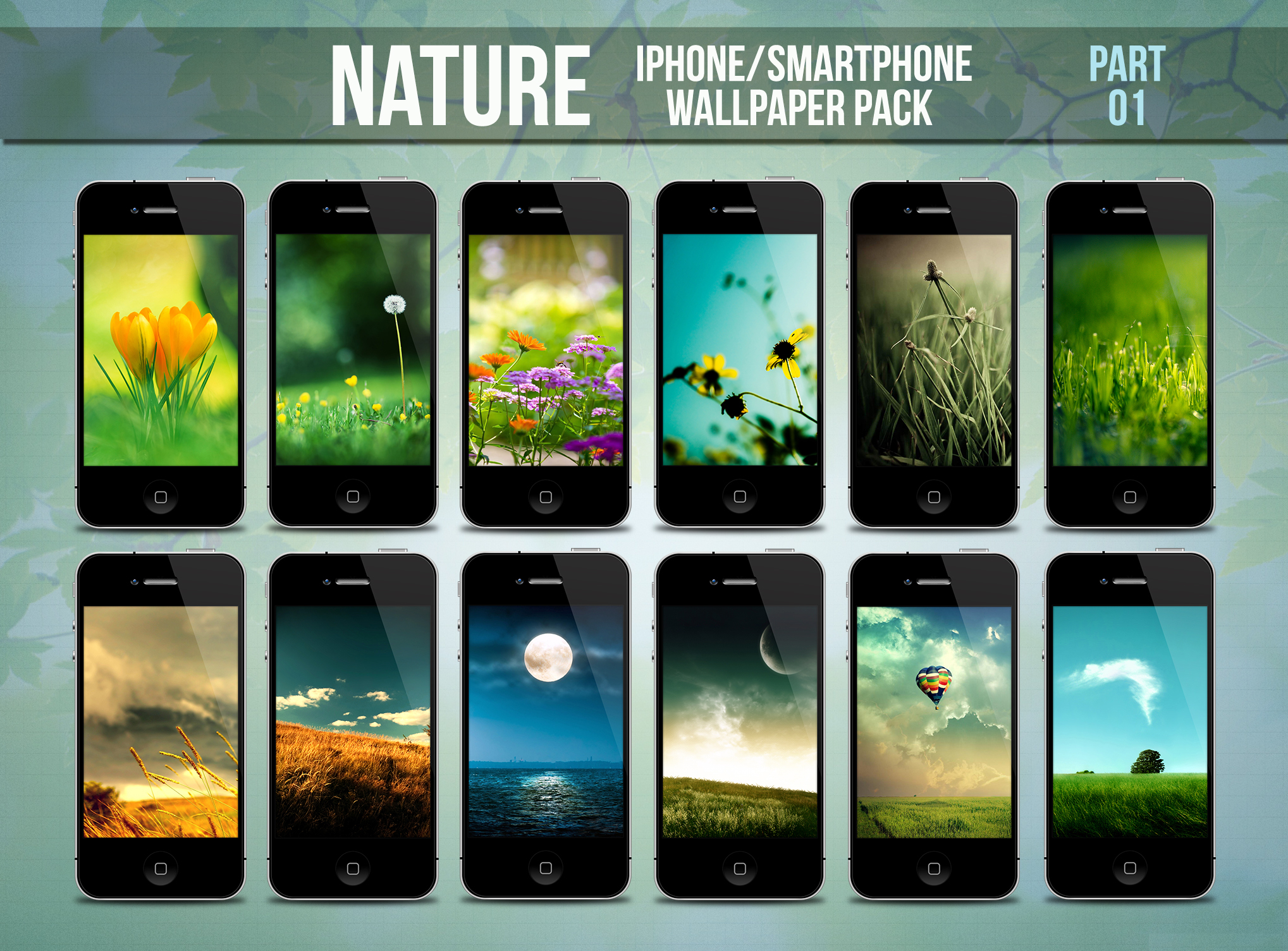 Nature IPhone Smartphone Wallpaper Pack Part 1 By Limav