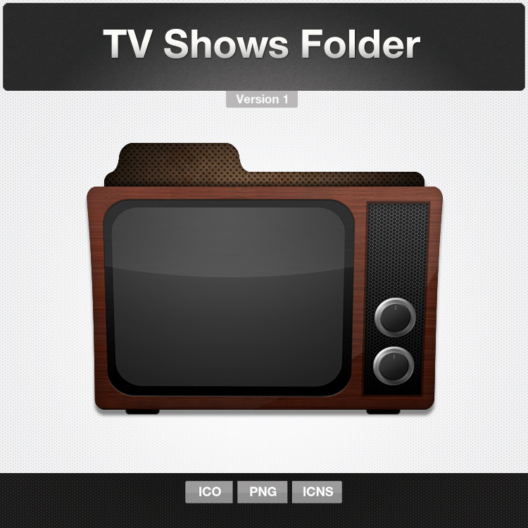 tv shows folder icon by limav on deviantart