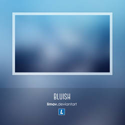 Bluish - Wallpaper