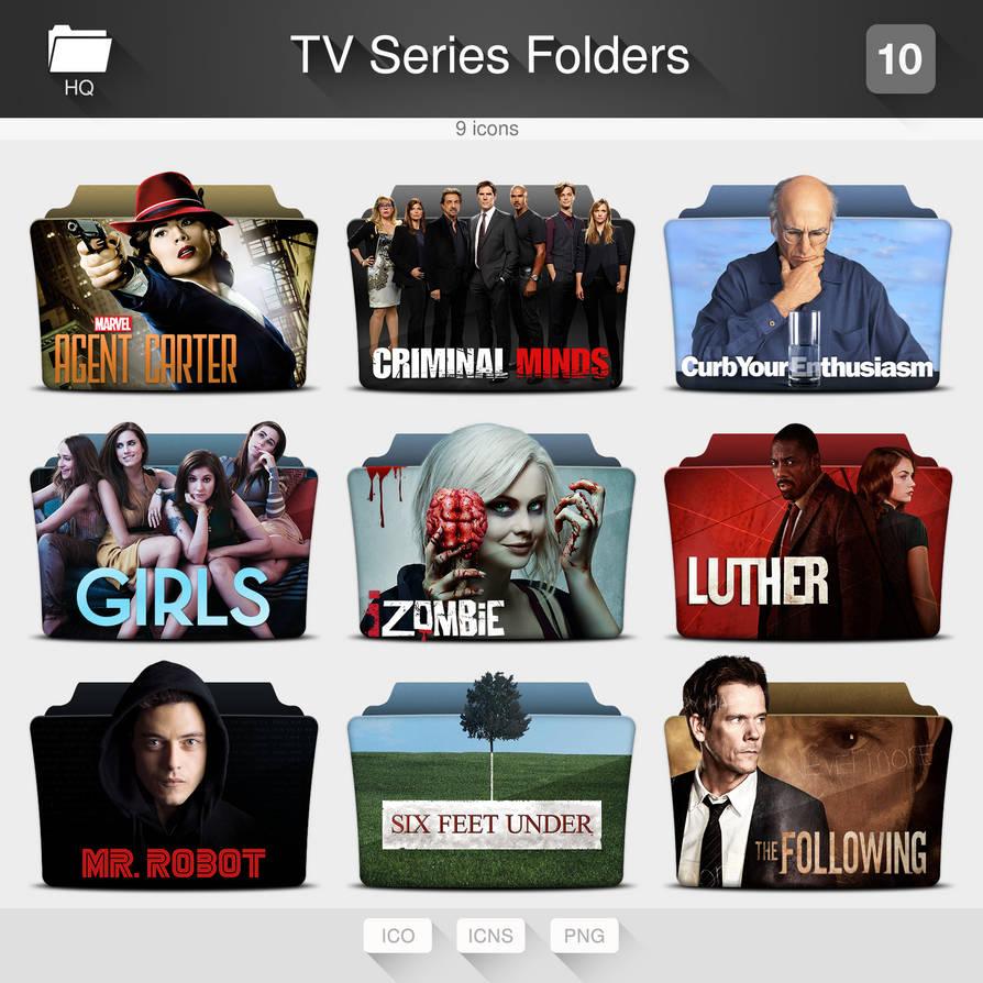 TV Series Folders - PACK 10 by limav on DeviantArt
