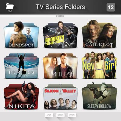 TV Series Folders - PACK 12