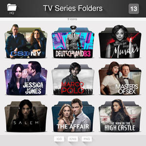 TV Series Folders - PACK 13