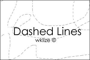 dashed lines by WKLIZE