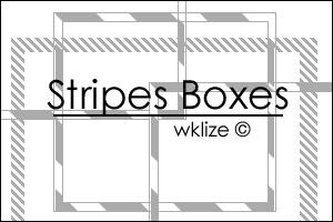 Stripes Boxes by WKLIZE