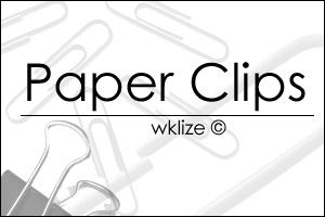 Paper clips by WKLIZE