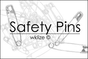 Safety Pins by WKLIZE