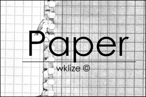 Paper Note by WKLIZE