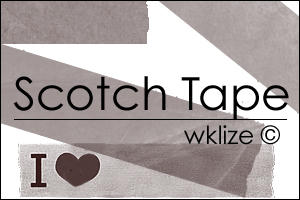 Scotch Tape by WKLIZE