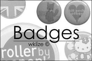 Badges by WKLIZE