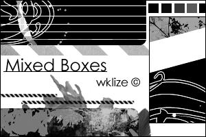 Mixed Boxes by WKLIZE
