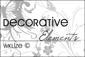 Decorative Elements by WKLIZE