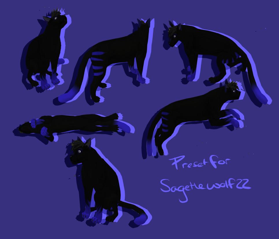 sagethewolf22's preset by Z-A-D-Y