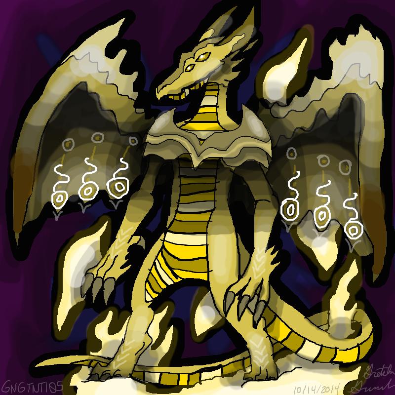Helios The Sun Dragon by GNGTNT105