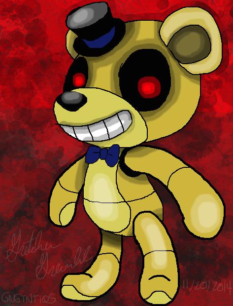 Golden Freddy by GNGTNT105
