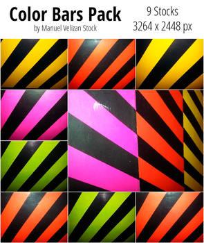 Color Bars Pack - 9 Stocks