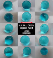 Blue Balls Crystal Hidrogel Pack 1 by manuelvelizan