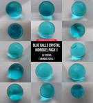 Blue Balls Crystal Hidrogel Pack 1