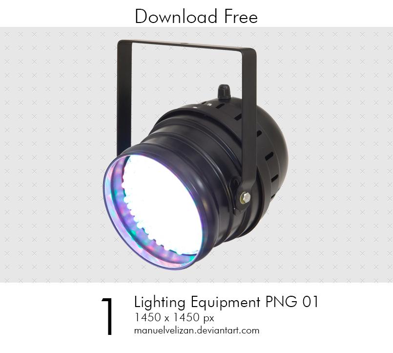 Lighting Equipment PNG by manuelvelizan