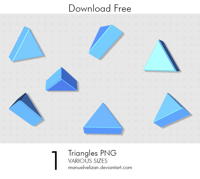 Triangles PNG