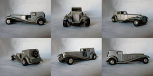 Vintage Car Stock Pack - 6 Stocks
