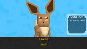 Eevee Says Hello (GIF)