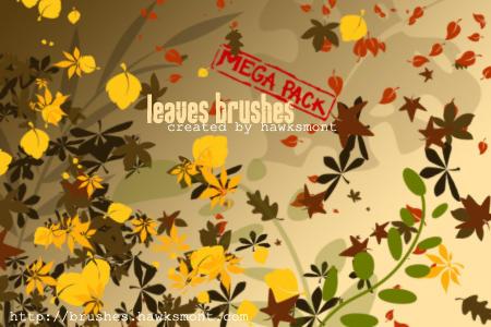 Leaves Brushes MEGA PACK