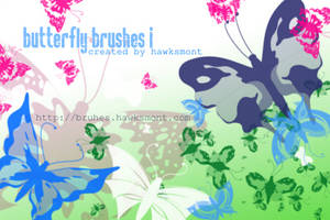 Butterfly Brushes I by hawksmont