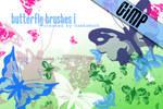 GIMP: Butterfly I