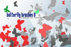Butterfly Brushes II by hawksmont