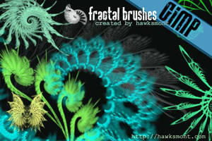 GIMP: Fractals I by hawksmont