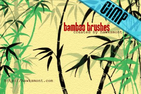 GIMP: Bamboo