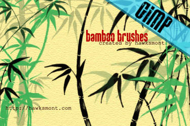 GIMP: Bamboo by hawksmont