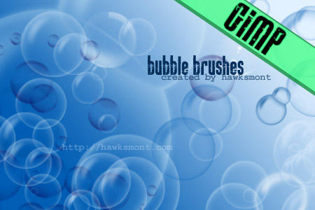 GIMP: Bubbles by hawksmont
