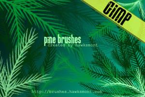 GIMP: Pine MEGA PACK by hawksmont