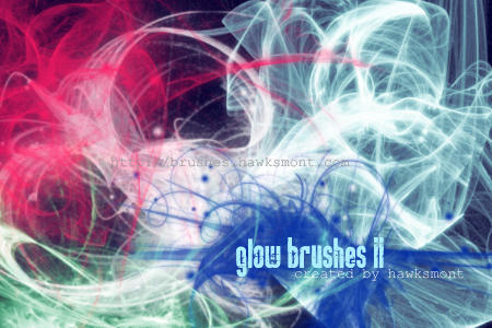 Glow Brushes II by hawksmont