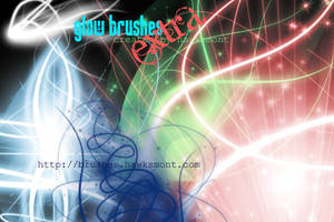 Glow Brushes Extra by hawksmont