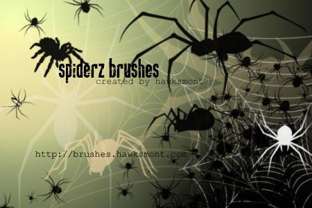 Spiderz Brushes