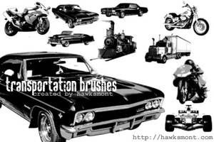 Transportation brushes by hawksmont