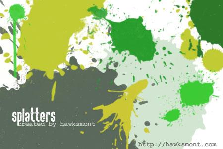 Splatters by hawksmont