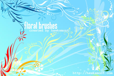Floral brushes Floral_brushes_by_hawksmont