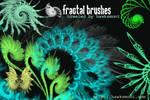 Fractal Brushes I