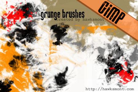GIMP: Grunge by hawksmont
