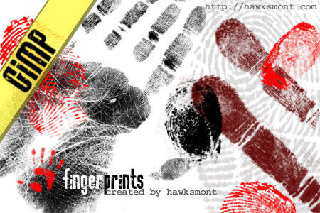 GIMP: Fingerprints by hawksmont