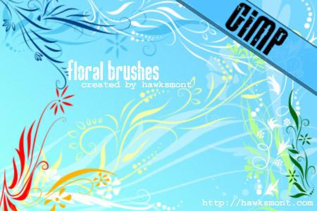 GIMP: Floral I by hawksmont