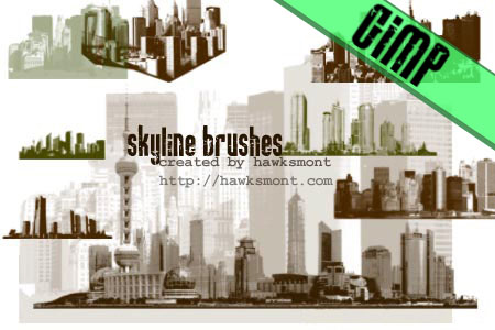GIMP: Skylines