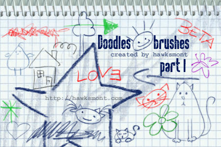 Doodles I by hawksmont